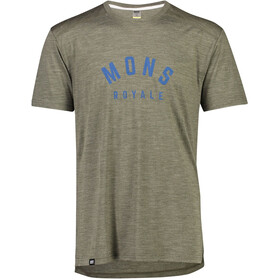 Mons Royale Vapour Tee Herre olive